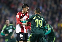 February 23, 2019 - Bilbao, Spain - Bilbao, northern Spain, Sunday, February, 23, 2019. Dani Garcia, Charles Dias during the Spanish La Liga soccer match between Athletic Club Bilbao and S.D Eibar at San Mames stadium. (Credit Image: © Gtres/NurPhoto via ZUMA Press)
