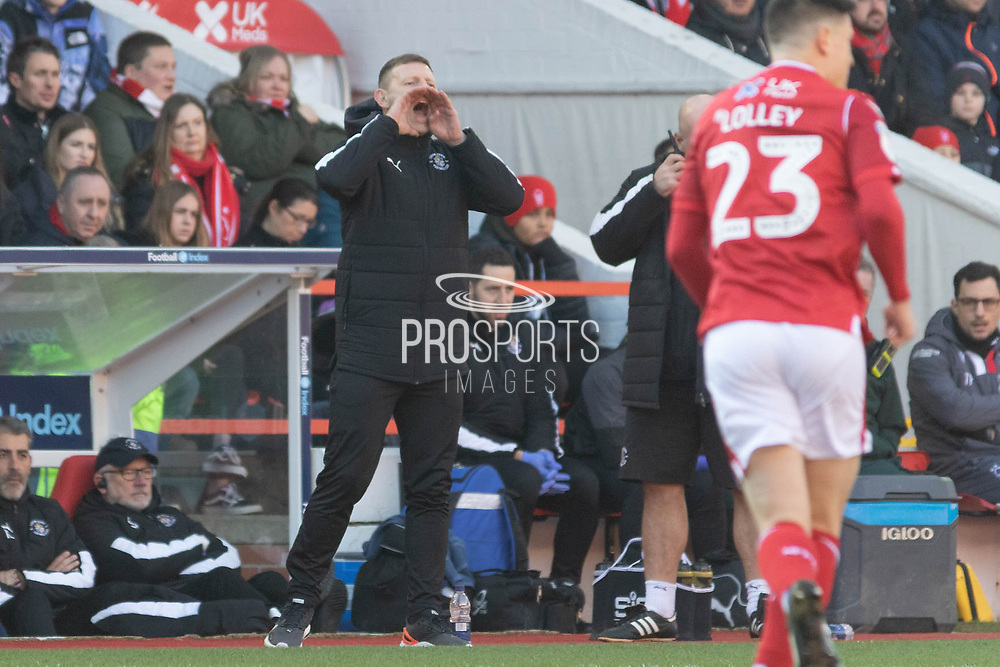Graeme Jones during the EFL Sky Bet Championship match between Nottingham Forest and Luton Town at the City Ground, Nottingham, England on 19 January 2020.
