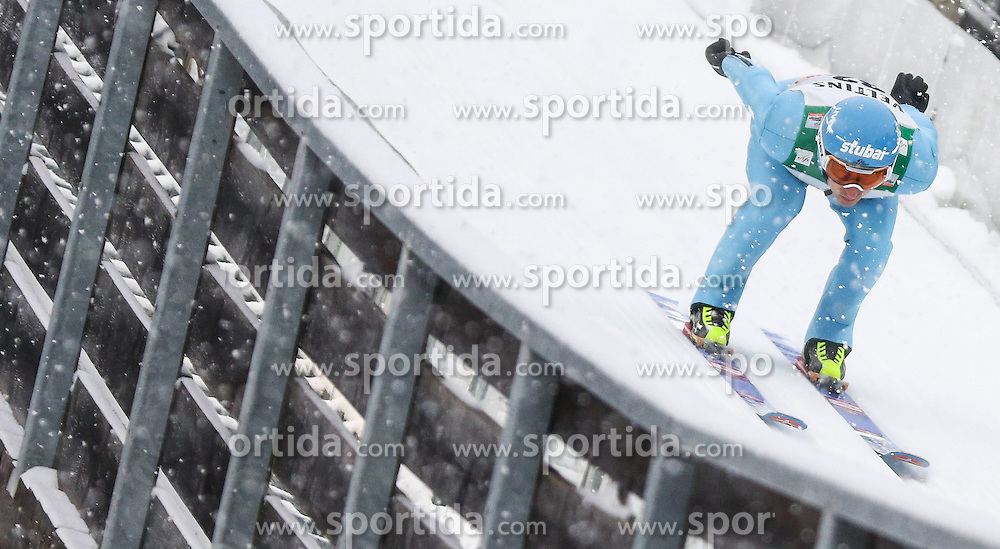 30.01.2015, Skisprungstadion, Predazzo, ITA, FIS Weltcup Nordische Kombination, Val di Fiemme, Skisprung, im Bild Wilhelm Denifl (AUT) // during skijumping of the FIS Nordic Combined World Cup Val di Fiemme at the Skisprungstadion in Predazzo, Italy on 2015/01/30. EXPA Pictures © 2015, PhotoCredit: EXPA/ Alice Russolo