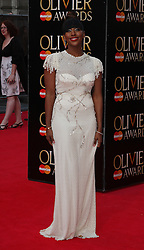 ALEXANDRA BURKE attends The Laurence Olivier Awards at the Royal Opera House, London, United Kingdom. Sunday, 13th April 2014. Picture by i-Images