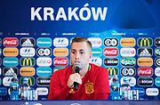 KRAKOW, POLEN - 2017-06-29: Gerard Deulofeu under Spaniens U21 landslags tr&auml;ning den 29 juni p&aring; Krakow Stadium i Krakow, Polen.<br /> Foto: Nils Petter Nilsson/Ombrello<br /> ENDAST REDAKTIONELL ANV&Auml;NDNING. ***BETALBILD***