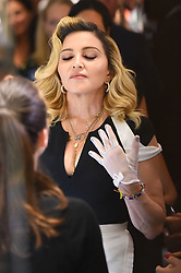 "Madonna shows her MDNA skincare line inside the ""Barney's"". 26 Sep 2017 Pictured: Madonna. Photo credit: STB / MEGA TheMegaAgency.com +1 888 505 6342"