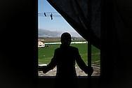 Sanaa Aliaham (40). Ghofren Al Shayeb (22) bor i lejlighed i Jeb Jenin