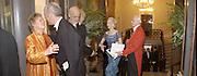 Mrs. Philip King, Charles Saumarez Smith,, Prof. Philip King. Royal Academy annual dinner. Royal Academy. Picadilly. 30 May 2002. © Copyright Photograph by Dafydd Jones 66 Stockwell Park Rd. London SW9 0DA Tel 020 7733 0108 www.dafjones.com