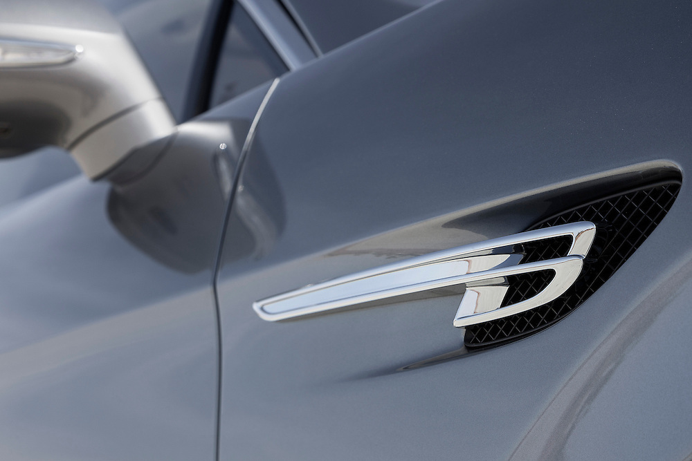 Photo of the Bentley Logo &quot;Flying B&quot;<br />