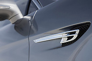 Photo of the Bentley Logo &quot;Flying B&quot;<br /> <br /> Logo on a 2014 Bentley Flying Spur Silver