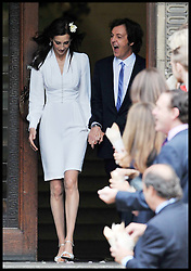 Former Beatle Sir Paul McCartney marries for the third time to Nancy Shevell at Old Marylebone Town Hall, London, Sunday October 9, 2011. Photo By Andrew Parsons/ i-Images