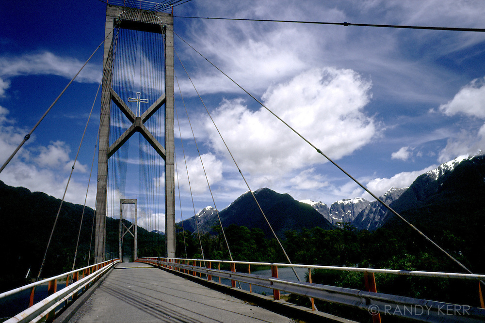Bridge in Patagonia