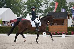 Afanasieva Polina, RUS, Querido<br /> World Championship Young Dressage Horses <br /> Ermelo 2016<br /> © Hippo Foto - Leanjo De Koster<br /> 29/07/16