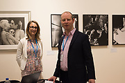 JAMES HYMAN, CLAIRE HYMAN, Opening of Photo London, 2018. Somerset House. London. 16 May 2018