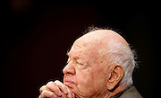 Mar 2, 2011 - Washington, District of Columbia, U.S. - Actor MICKEY ROONEY testifies on Capitol Hill Wednesday about elder abuse, before the Senate Aging Committee..(Credit Image: © Pete Marovich/ZUMA Press)