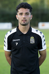 July 13, 2018 - Tegelen, NETHERLANDS - Charleroi's Omid Noorafkan poses for the photographer after a friendly soccer game between Sporting Charleroi and German club 1. FSV Mainz 05, Friday 13 July 2018 in Tegelen, The Netherlands, in preparation of the 2018-2019 season. BELGA PHOTO KRISTOF VAN ACCOM (Credit Image: © Kristof Van Accom/Belga via ZUMA Press)