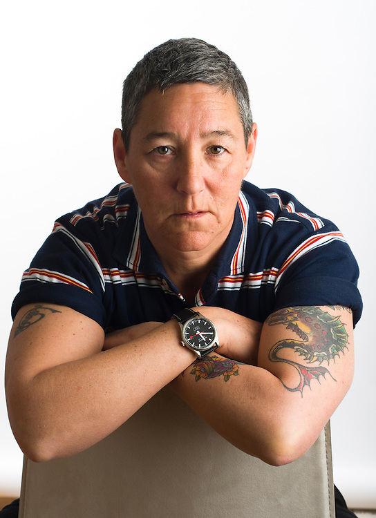 """Author and USC professor Judith Halberstam, an expert on Gender Studies. FOR MORE IMAGES, SEARCH FOR """"HALBERSTAM"""". Contact me with your licensing request."""