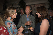 LADY KITTY SPENCER; RICHARD E. GRANT, Robin Birley and Lady Annabel Goldsmith Summer Party. Hertford St. London. 5 July 2017