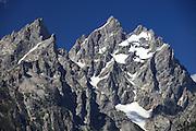 Grand Tetons Mountain range in Jackson Hole Wyoming.