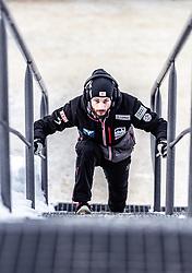 20.01.2019, Wielka Krokiew, Zakopane, POL, FIS Weltcup Skisprung, Zakopane, Herren, Siegerehrung, im Bild Manuel Fettner (AUT) // Manuel Fettner of Austria during the winner ceremony of FIS Ski Jumping world cup at the Wielka Krokiew in Zakopane, Poland on 2019/01/20. EXPA Pictures © 2019, PhotoCredit: EXPA/ JFK