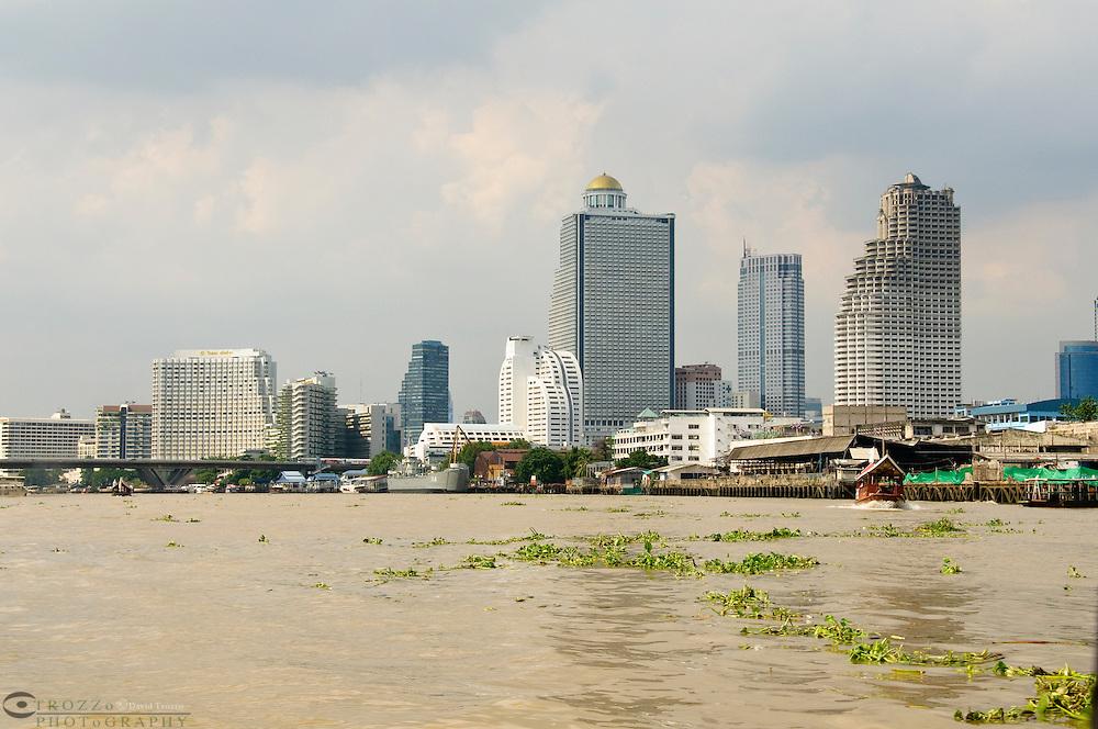 Chao Phraya River Bangkok; Thailand.