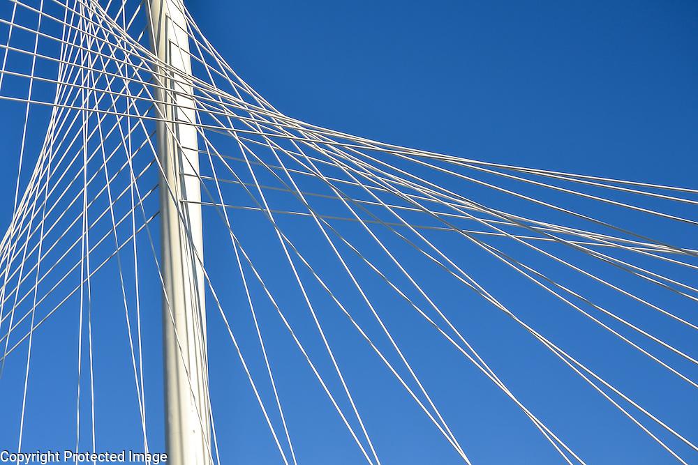 Margaret Hunt Hill Bridge, newest addition to the stunning Dallas skyline