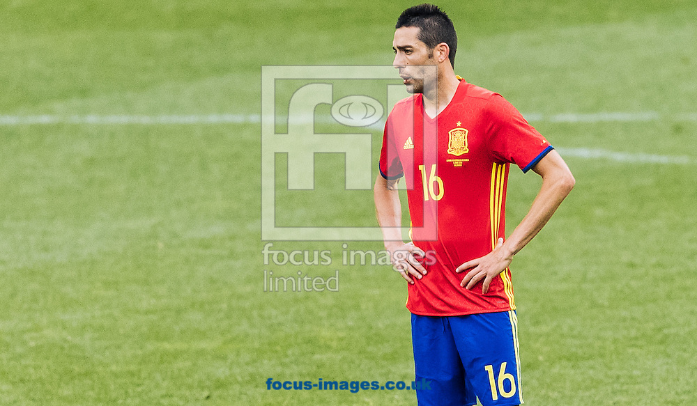 Bruno Soriano of Spain during the International Friendly match at Red Bull Arena, Salzburg<br /> Picture by EXPA Pictures/Focus Images Ltd 07814482222<br /> 01/06/2016<br /> ***UK &amp; IRELAND ONLY***<br /> (filename}