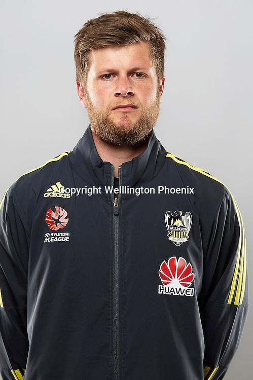Duncan Pearce.<br /> Headshots of the Wellington Phoenix Football team for the Hyundai A-League 2016-17 season.