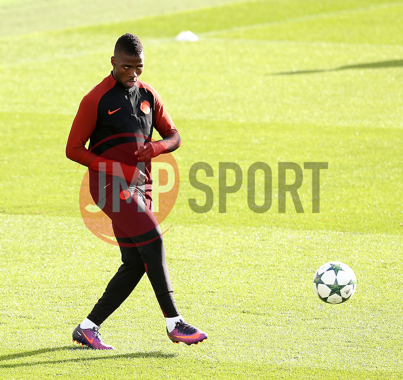 Kelechi Iheanacho of Manchester City - Mandatory by-line: Matt McNulty/JMP - 18/10/2016 - FOOTBALL - Manchester City - Training session ahead of Champions League qualifier against FC Barcelona