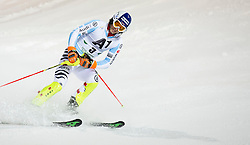 27.01.2015, Planai, Schladming, AUT, FIS Skiweltcup Alpin, Schladming, 2. Lauf, im Bild Fritz Dopfer (GER) // Fritz Dopfer (GER) during the second run of the men's slalom of Schladming FIS Ski Alpine World Cup at the Planai Course in Schladming, Austria on 2015/01/27, EXPA Pictures © 2015, PhotoCredit: EXPA/ Erwin Scheriau
