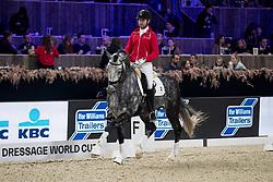 Michiels Domien, BEL, Panthero vd Vogelzang<br /> Jumping Mechelen 2019<br /> © Hippo Foto - Sharon Vandeput<br /> 29/12/19