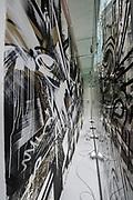 Hong Kong Soho Street Art Community Project ' Hidden Street ', at Pearl Lam Galleries on Aug 14, 2015, in Hong Kong, China. Photo by Moses Ng / studioEAST