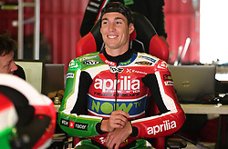 May 22, 2018 - Barcelona, Catalonia, Spain - Aleix Espargaro (Aprilia)  during the Moto GP test in the Barcelona Catalunya Circuit, on 22th May 2018 in Barcelona, Spain. (Credit Image: © Joan Valls/NurPhoto via ZUMA Press)