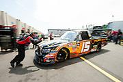 May 20, 2011: NASCAR Camping World Truck Series, The N.C. Education Lottery 200. Kimi Raikkonen, KBM, Toyota