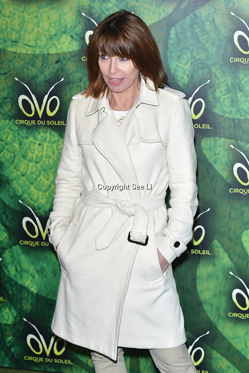 London, England, UK. 10th January 2018. Kay Burley arrives at Cirque du Soleil OVO - UK premiere at Royal Albert Hall.