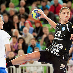 20130210: SLO, Handball - EHF Women's Champions League, RK Krim Mercator vs Oltchim Rm. Valcea