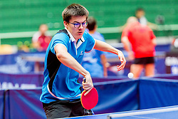 (SWE) ANDERSSON Emil in action during 15th Slovenia Open - Thermana Lasko 2018 Table Tennis for the Disabled, on May 10, 2018 in Dvorana Tri Lilije, Lasko, Slovenia. Photo by Ziga Zupan / Sportida