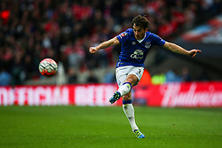 Leighton Baines of Everton in action - Mandatory byline: Jason Brown/JMP - 07966386802 - 23/04/2016 - FOOTBALL - Wembley Stadium - London, England - Everton v Manchester United - The Emirates FA Cup