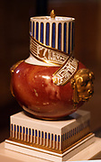Egyptianising potpourri vase 1795 Royal Porcelain Manufacturer Ceramic