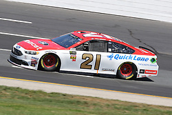 July 20, 2018 - Loudon, NH, U.S. - LOUDON, NH - JULY 20: Paul Menard, driver of the #21 Motorcraft\Quick Lane Tire & Auto Center Ford during  practice for the Monster Energy Cup Series Foxwoods Resort Casino 301 race on July, 20, 2018, at New Hampshire Motor Speedway in Loudon, NH. (Photo by Malcolm Hope/Icon Sportswire) (Credit Image: © Malcolm Hope/Icon SMI via ZUMA Press)