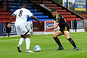 Anthony Hartigan (26) of AFC Wimbledon during the Pre-Season Friendly match between Aldershot Town and AFC Wimbledon at the EBB Stadium, Aldershot, England on 28 July 2017. Photo by Graham Hunt.