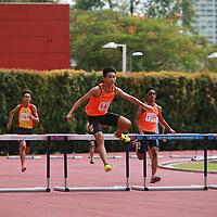 B Div Boys 400m Hurdles