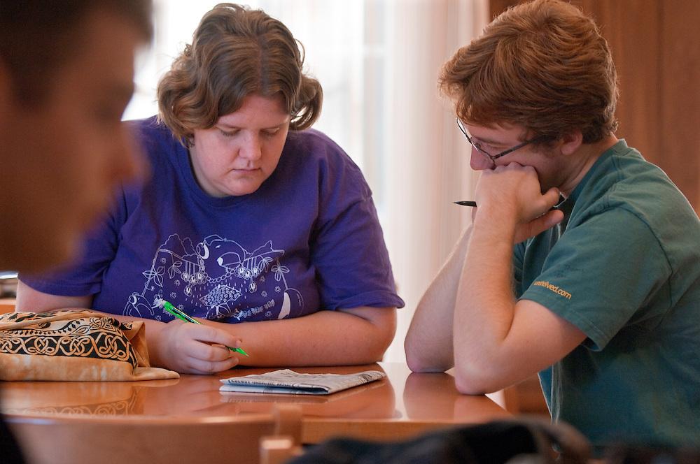 18443 campus fall 2007....Sarah Brinkman and James Balch
