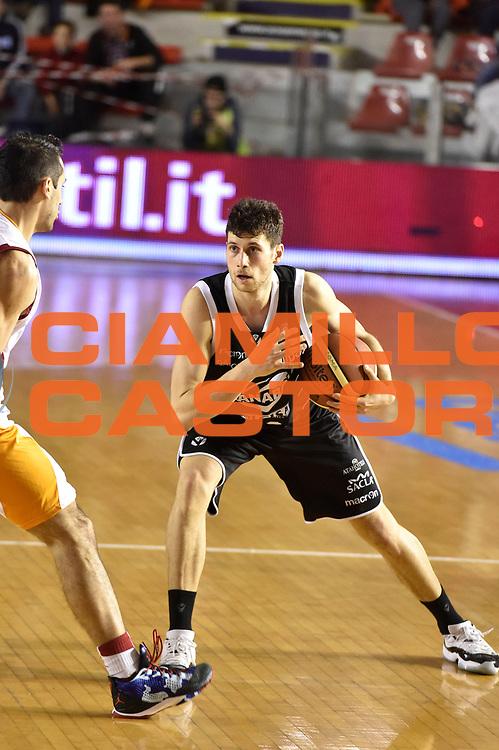 DESCRIZIONE : Roma Lega A 2014-15 Acea Roma Granarolo Bologna<br /> GIOCATORE : Matteo Imbro<br /> CATEGORIA : palleggio<br /> SQUADRA : Granarolo Bologna<br /> EVENTO : Campionato Lega A 2014-2015<br /> GARA : Acea Roma Granarolo Bologna<br /> DATA : 04/01/2015<br /> SPORT : Pallacanestro <br /> AUTORE : Agenzia Ciamillo-Castoria/GiulioCiamillo<br /> Galleria : Lega Basket A 2014-2015<br /> Fotonotizia : Roma Lega A 2014-15 Acea Roma Granarolo Bologna