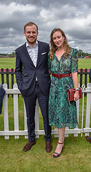 The Earl of Medina and his sister Lady Tatiana Mountbatten at the Cartier Queen's Cup Polo 2019 held at Guards Polo Club, Windsor, Berkshire. UK 16 June 2019. <br /> <br /> Photo by Dominic O'Neill/Desmond O'Neill Features Ltd.  +44(0)7092 235465  www.donfeatures.com