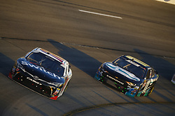 April 20, 2018 - Richmond, Virginia, United States of America - April 20, 2018 - Richmond, Virginia, USA: Noah Gragson (18) brings his car through the turns during the ToyotaCare 250 at Richmond Raceway in Richmond, Virginia. (Credit Image: © Chris Owens Asp Inc/ASP via ZUMA Wire)