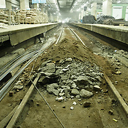repairs of Srednicowy train tunnel under Warsaw centre