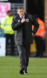 Bristol City manager, Steve Cotterill - Photo mandatory by-line: Dougie Allward/JMP - Mobile: 07966 386802 - 28/12/2014 - SPORT - football - Gillingham - Priestfield Stadium - Bristol City v Gillingham - Sky Bet League One