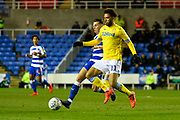 Tyler Roberts (11) of Leeds United during the EFL Sky Bet Championship match between Reading and Leeds United at the Madejski Stadium, Reading, England on 12 March 2019.