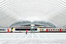 Guillemins Railway Station, Liège