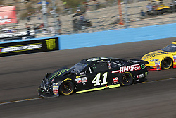 November 12, 2017 - Avondale, Arizona, United States of America - November 12, 2017 - Avondale, Arizona, USA: Kurt Busch (41) battles for position during the Can-Am 500(k) at Phoenix Raceway in Avondale, Arizona. (Credit Image: © Justin R. Noe Asp Inc/ASP via ZUMA Wire)