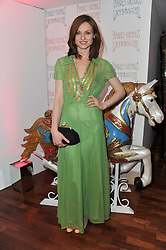 SOPHIE ELLIS-BEXTOR at a party to celebrate the launch of the Lucy in Disguise Ready to Wear collection exclusive to Harvey Nichols, held at The Fifth Floor Restaurant, Harvey Nichols, Knightsbridge, London on 25th May 2011.