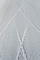 Groomed cross-country ski tracks in the Methow Valley, North Cascades Washington