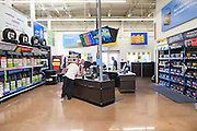 ROGERS, AR - OCTOBER 12:  Walmart's Auto Care Center at Walmart Store #4208 on October 12, 2015 in Rogers, Arkansas.  <br /> CREDIT Wesley Hitt for Wall Street Journal<br /> WALSQUEEZE